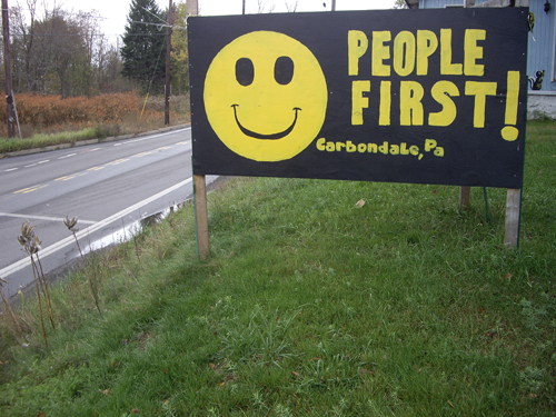 People First - Carbondale, PA - © Frank H. Jump