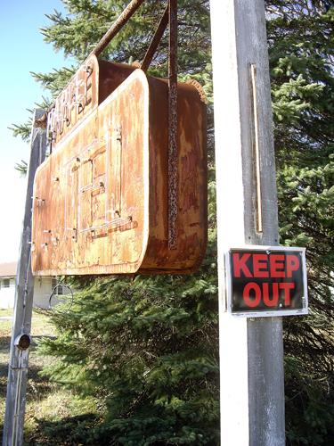 Maple Motel Derelict Neon - Rte 307 S, Maple Lake - Tooley Corners, PA