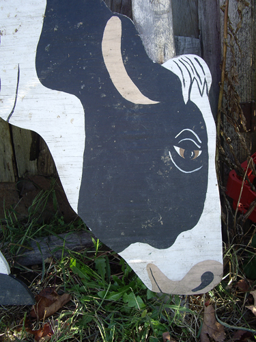 Milk Thistle & Folk Art Cow - NEPA