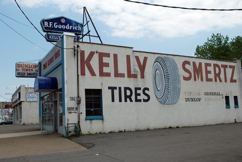 B.F. Goodrich Tires - Kelly Smertz Tires - Scranton, PA - © Frank H. Jump