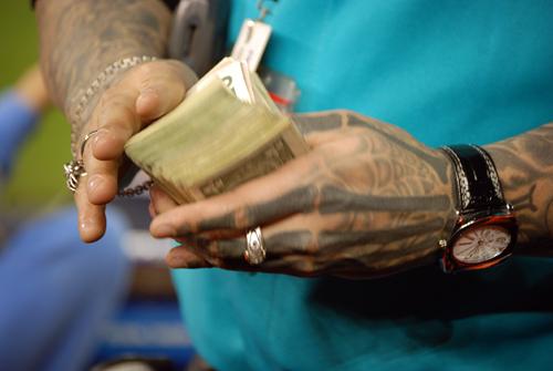 Tattooed Vendor - Mets