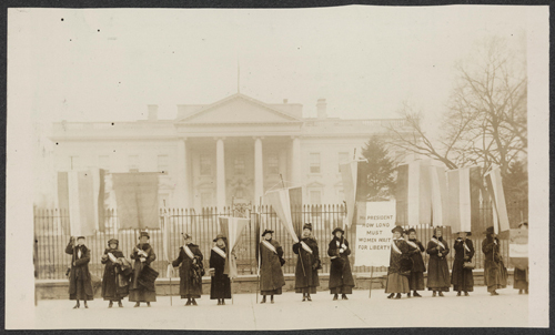 Library of Congress, Suffragettes
