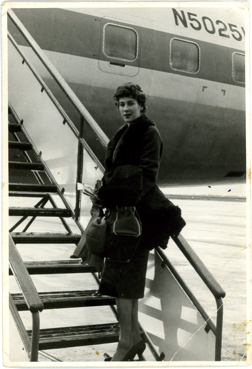 Flying back to the US from the Netherlands on Pan Am.