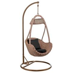 Hanging Chair Cane Electric Recliner Motors Parts Basket Natural Rattan Contemporary Living