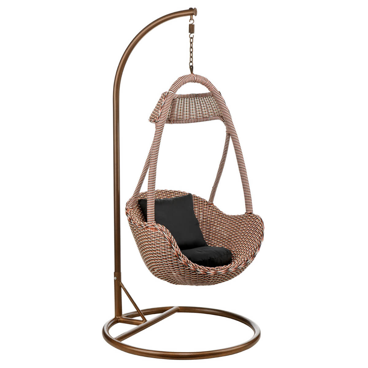 hanging rattan chair fold up rocking basket natural contemporary living
