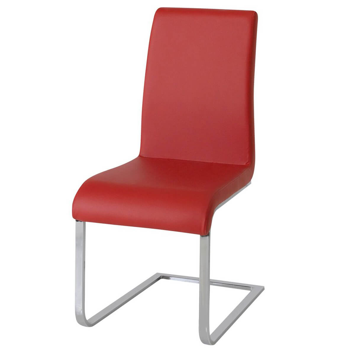 faux leather dining chairs walmart massage chair hue multi coloured red fads