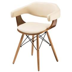 Faux Leather Dining Chairs Lightweight Hunting Chair Huntley Beech And Cream