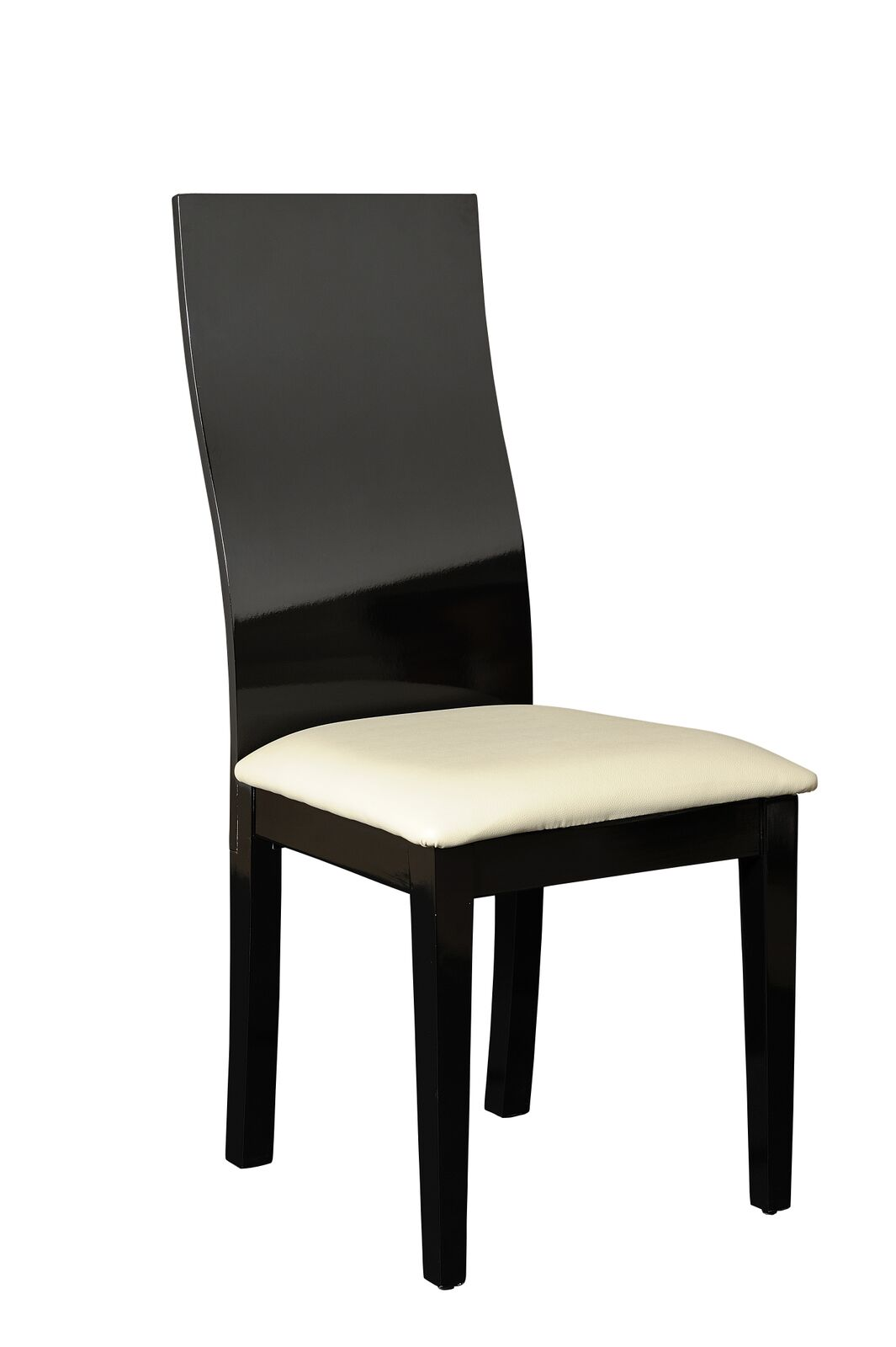 black dining sets with 6 chairs swing chair quotes logan clear glass and high gloss set