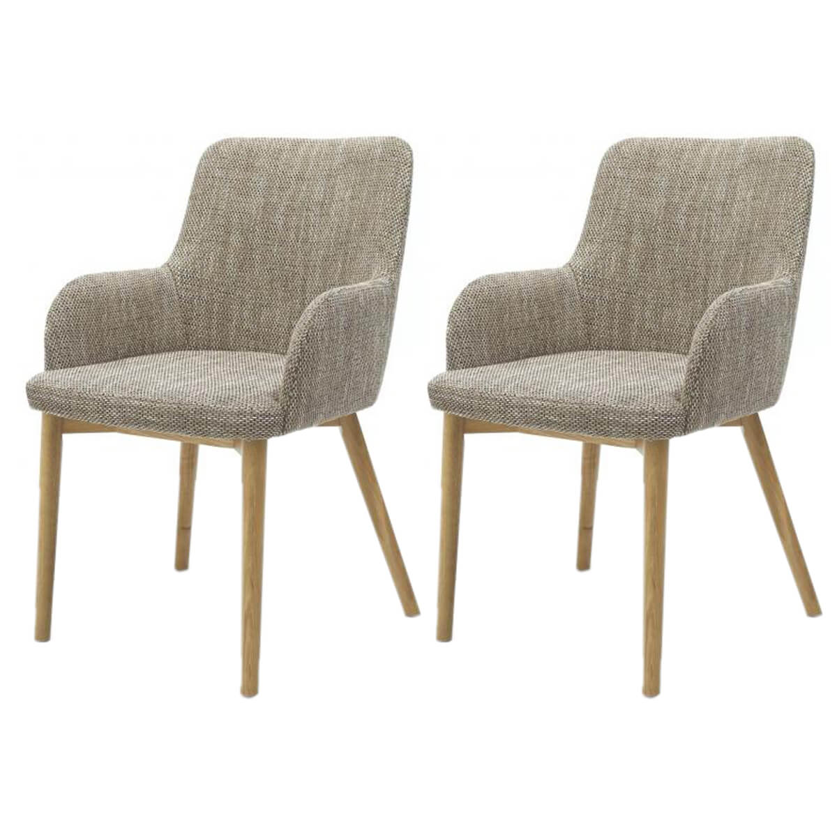 fabric dining chairs uk high chair booster sidcup tweed carver