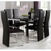 Julian Bowen Tempo Black Dining Furniture | Furniture Sale ...