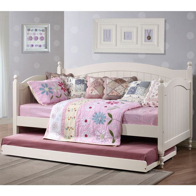 bloomsbury white daybed with optional trundle