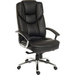 Luxury Desk Chairs Uk Best Chair For Spinal Fusion Bromley Italian Leather Office Black Home