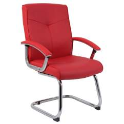 Red Leather Desk Chair Small Dining Tables And Chairs Cannes Contemporary Office