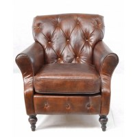 Sherlock Leather Armchair | Vintage Leather Chair | FADS