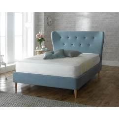 Bedroom Chair Gumtree Brisbane Burgundy Leather Accent Camille Duck Egg Blue Fabric Bed Frame Modern Beds Fads