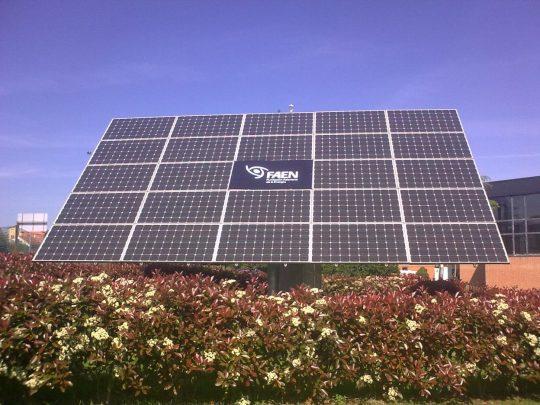 Ya disponibles los Datos de 2018 de la Instalación Solar Fotovoltaica del Parque Tecnológico de Asturias