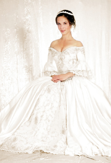 Medieval and Celtic Wedding Gowns  Custom Storybook Wedding Gowns  Canadian Maritime