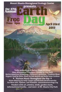 Mount Shasta Earth Day 2017 | Bioregional Ecology Center | faerwear