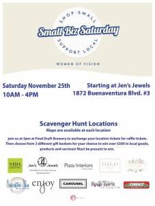Shop Small Saturday Redding | Women of Vision | Shopping in Redding | faerwear