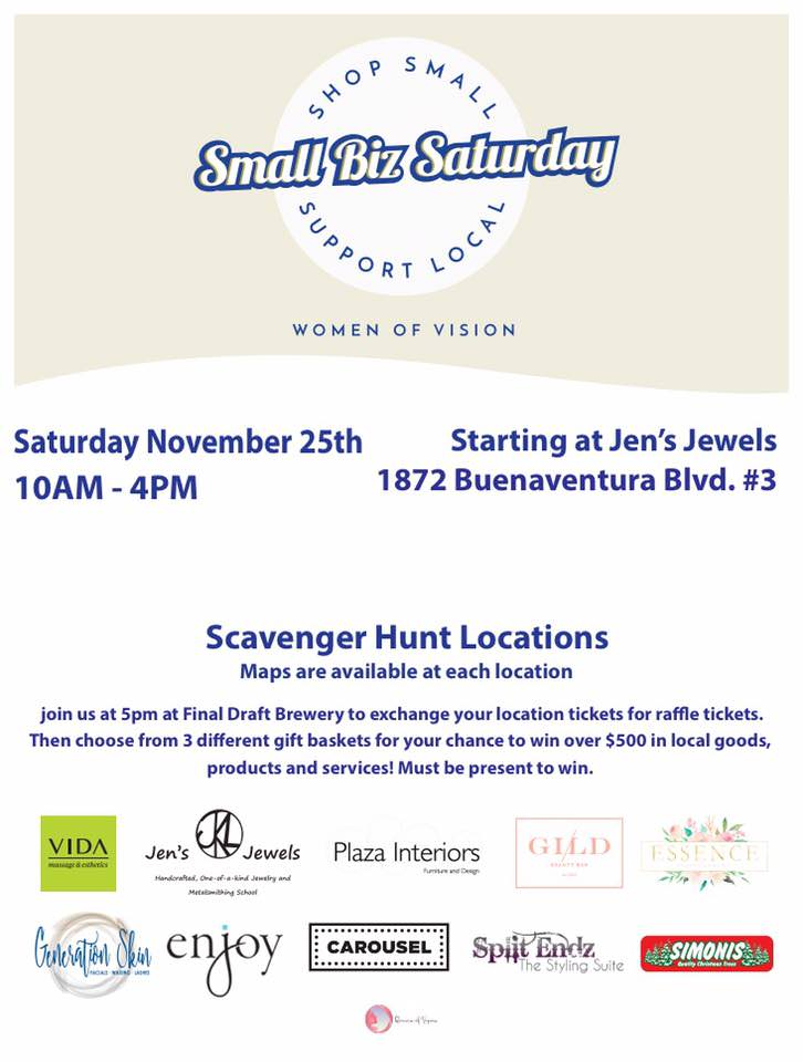 Shop Small Saturday Redding | Women of Vision | Shopping in Redding | faerwear