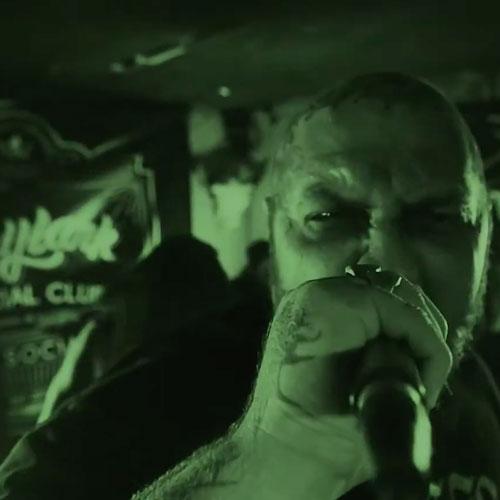 Green Fiend - Stonedly We Rot (artwork faeton music)