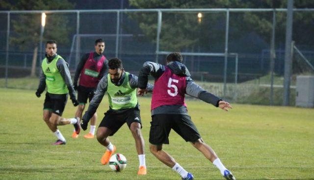 Equipe National D'Algerie :la première séance d'entrainement sur les terres autrichiennes 11