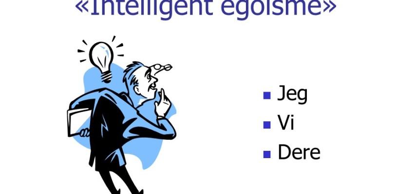 Intelligent egoisme