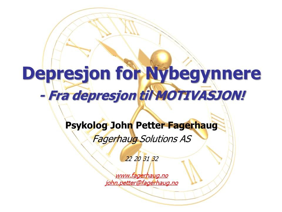 Depresjon for Nybegynnere