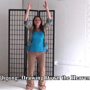 A demonstration of the Qigong movement entitled: Drawing Down The Moon