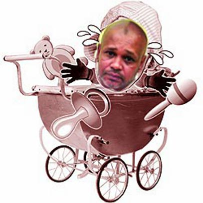 Chipping Norton Councillor Hasan, chucking his toys out of the pram again.