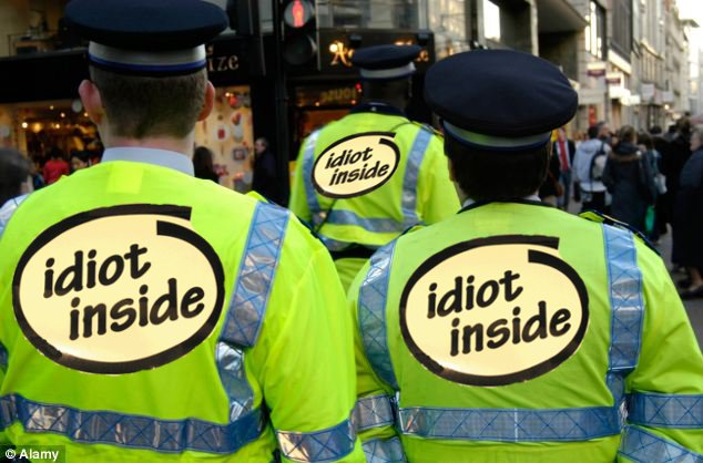 police idiot inside
