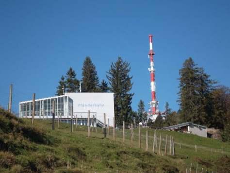 Bregenz Bergstation der Pfänderbahn