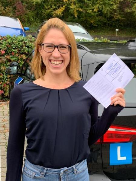Praktische Führerprüfung - Anja - 22.10.2019