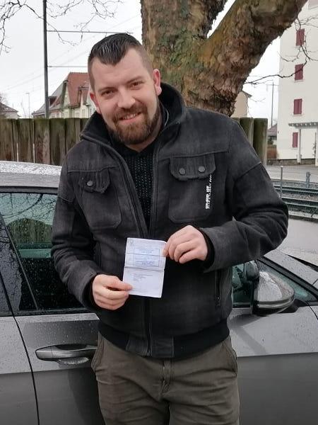 Praktische Führerprüfung - Thomas - 26.02.2020