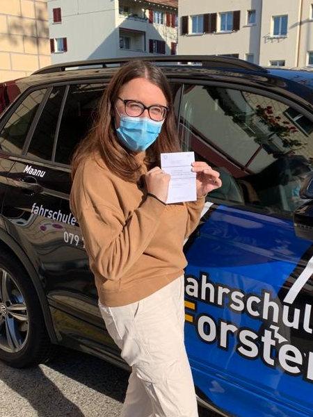 Praktische Führerprüfung - Laura - 13.11.2020