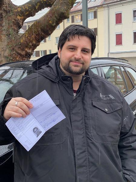 Praktische Führerprüfung - Marco - 07.01.2021