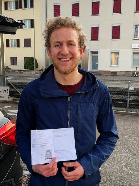 Praktische Führerprüfung - Boas - 18.02.2021