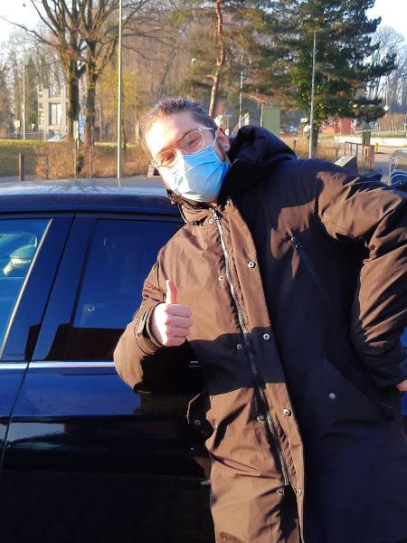 Praktische Führerprüfung - Dimitri - 02.03.2021
