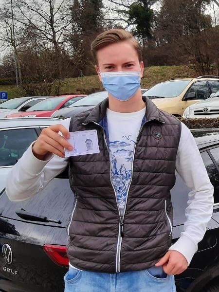 Praktische Führerprüfung - Joel - 04.03.2021
