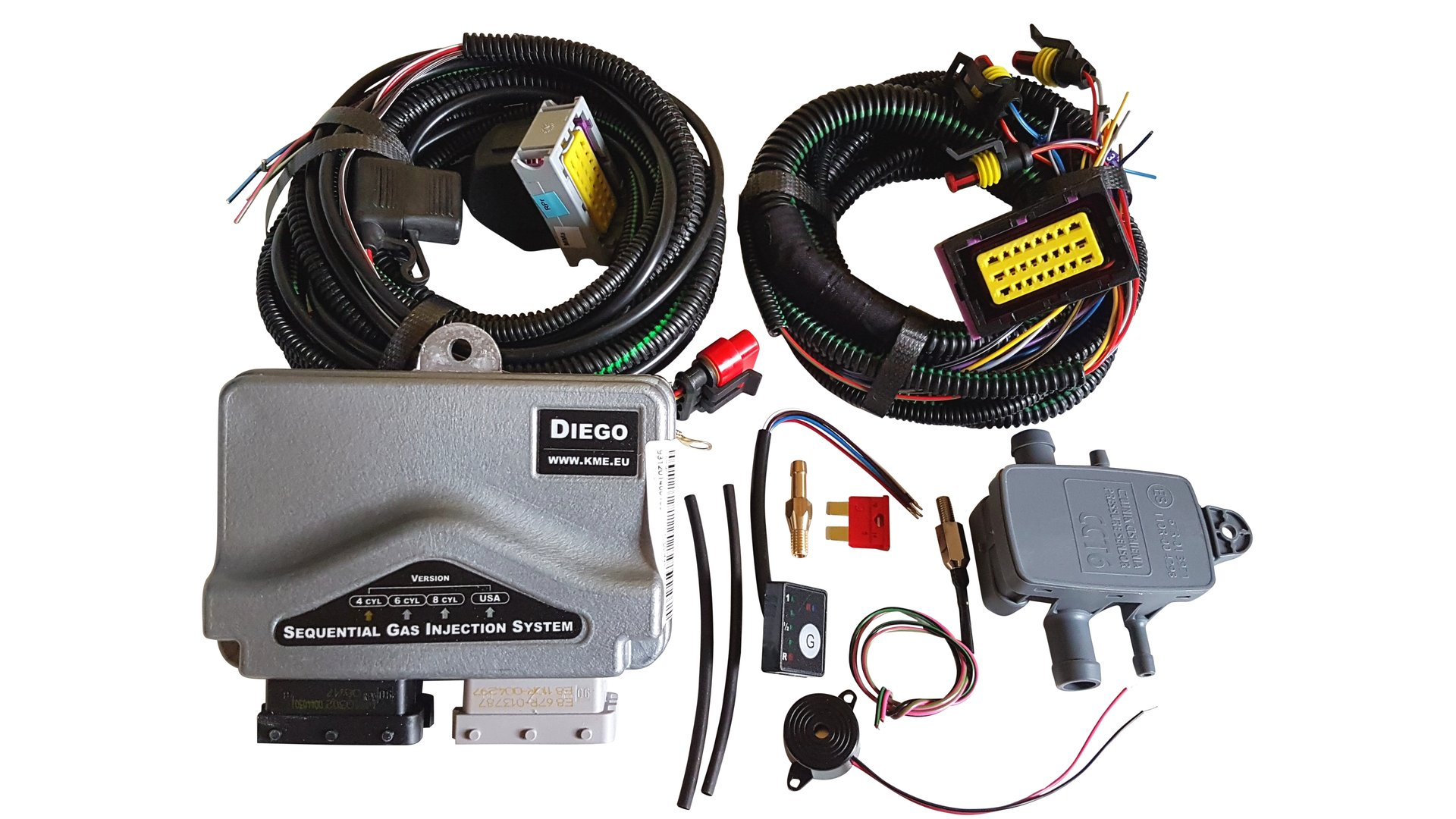 hight resolution of kme diego g3 4 zyl electronic kit vogler gpl gas shop king electronics 4 cyl computer map sensor switch wiring harness
