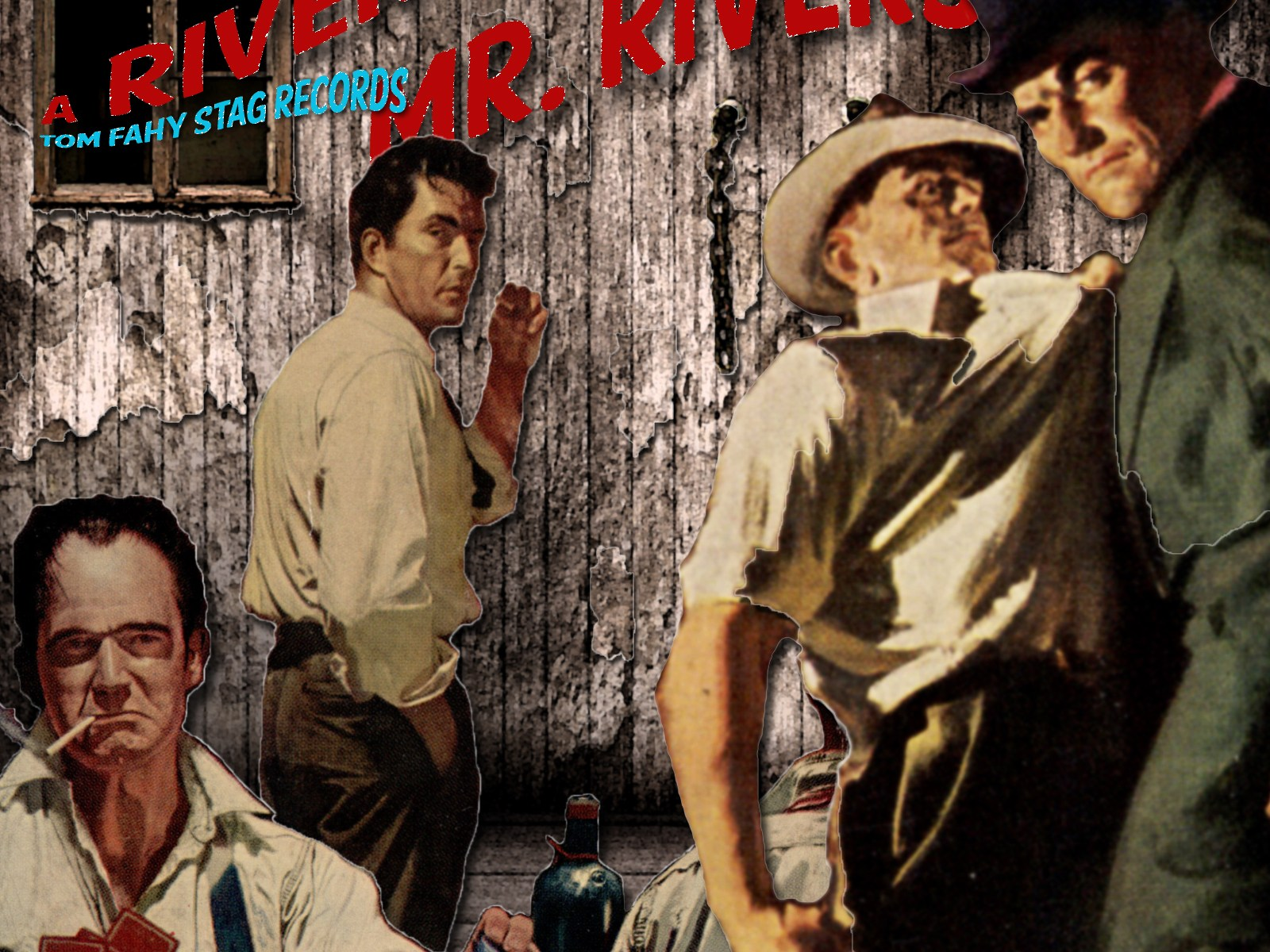 A River for Mr. Rivers, by Tom Fahy (2012)