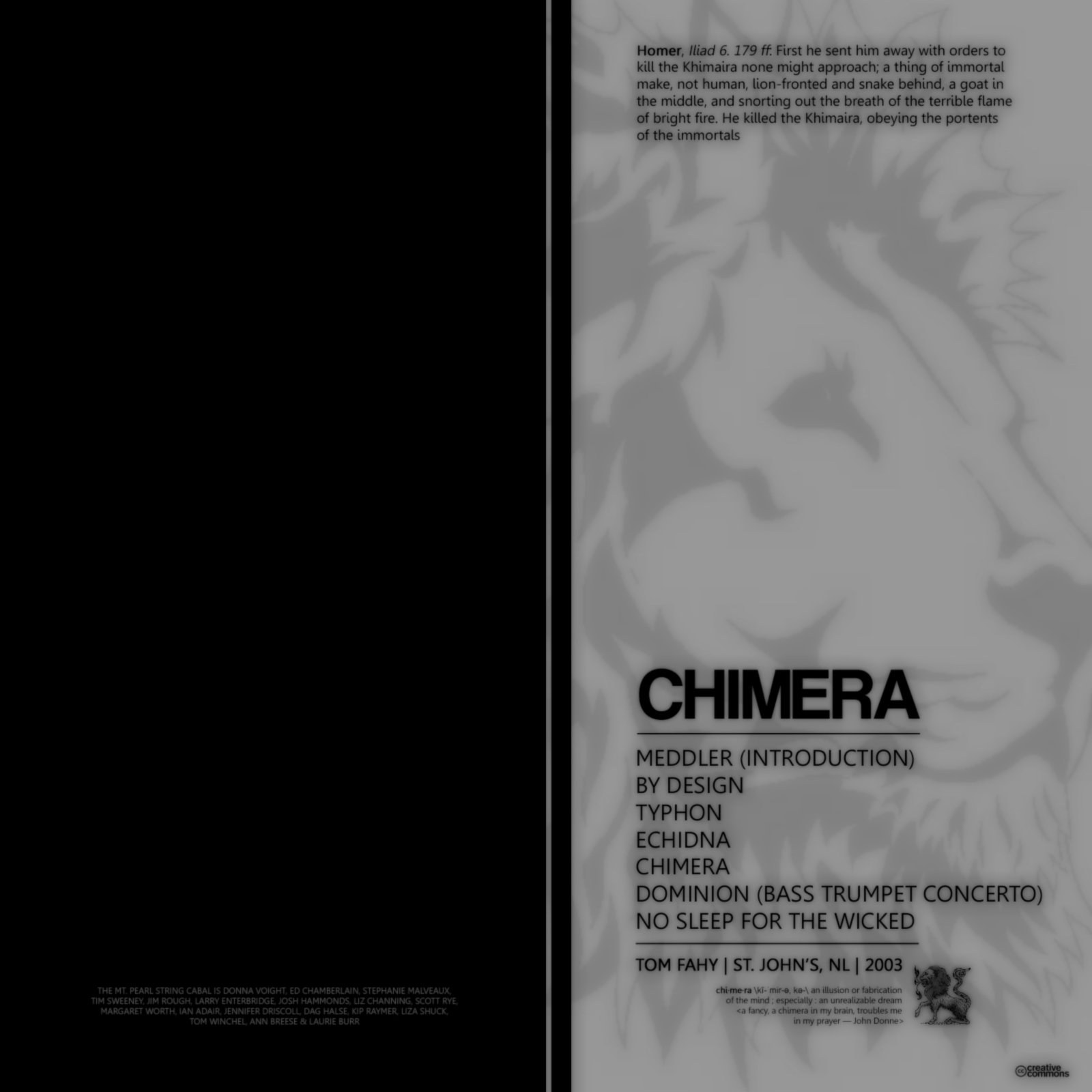 Chimera by Tom Fahy
