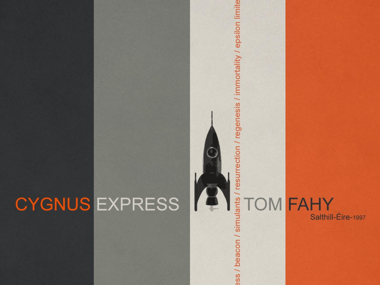 Cygnus Express, by Tom Fahy