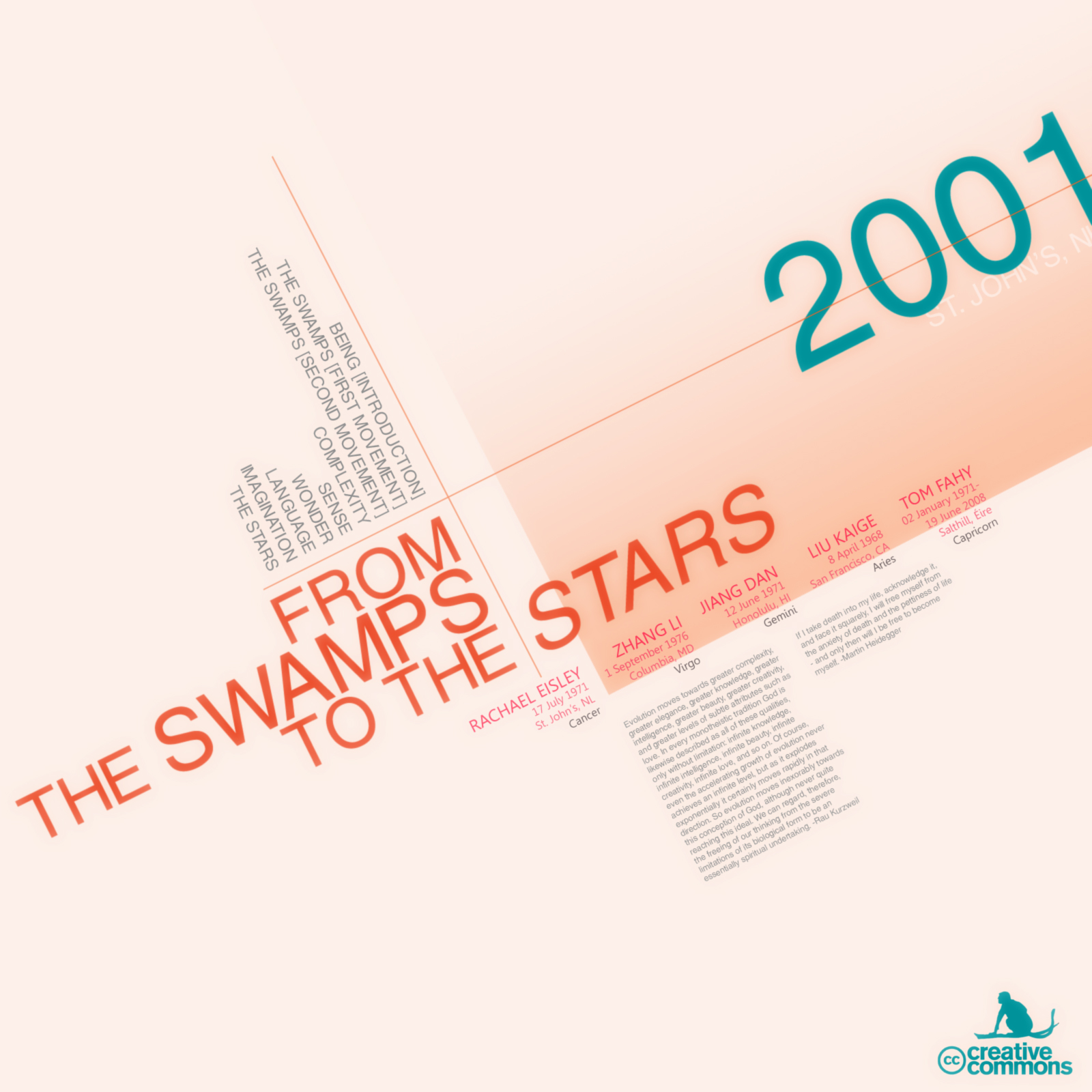 From the Swamps to the Stars, by Tom Fahy