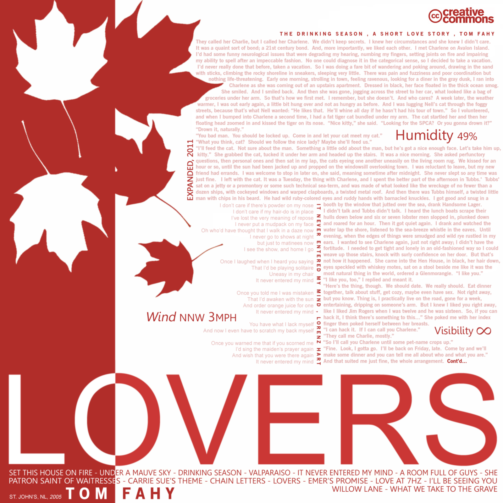 Lovers, by Tom Fahy (2005)