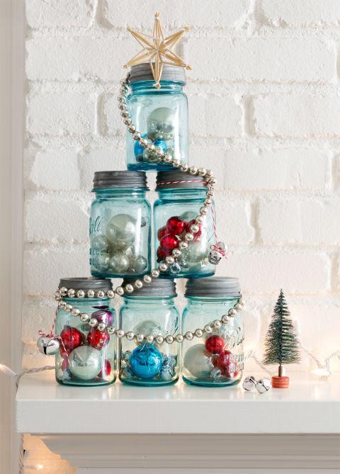 I barattoli di vetro decorati con spago sono delle decorazioni facilissime da realizzare e. Barattoli Creativi 13 Idee Fai Da Te Per Natale Fai Da Te Creativo