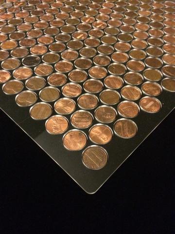 Come fare un pavimento di monete