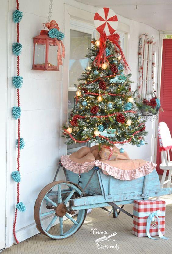 Una Base Fai Da Te Per Lalbero Di Natale
