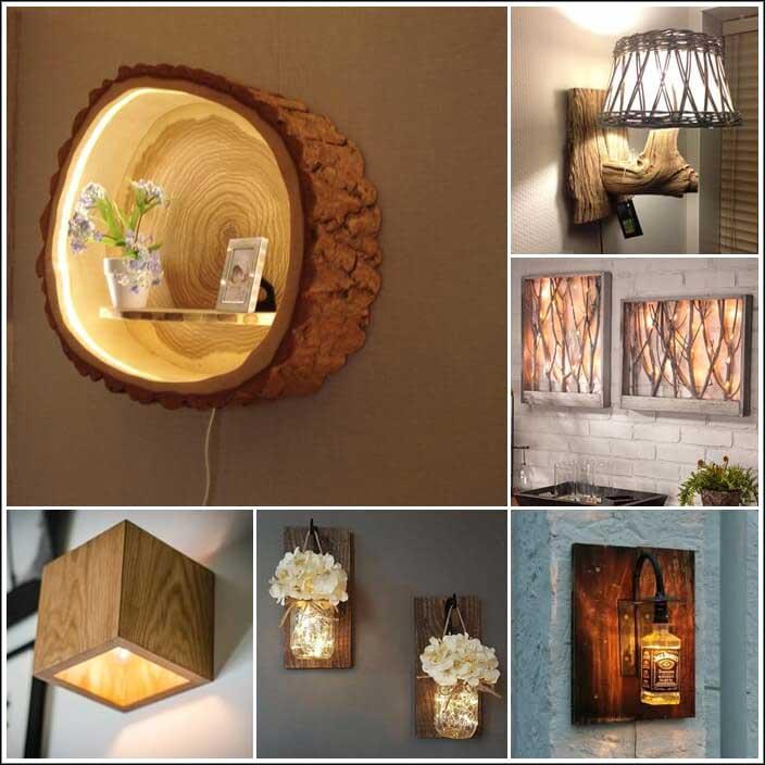 10 lampade a muro veramente uniche e creative