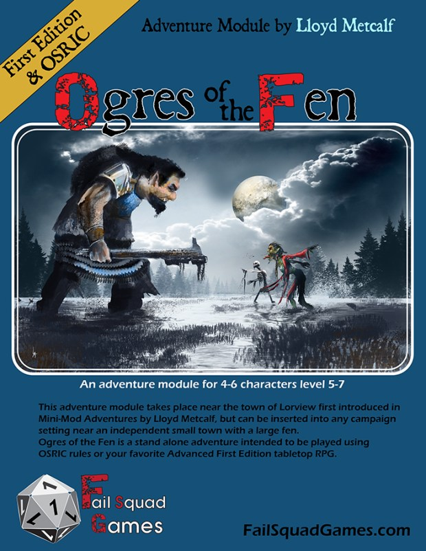 The Working Cover for Ogres of the Fen
